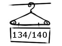 Maillot - Legging maat 134-140-146