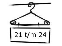 Jongens maat 21 t/m 24