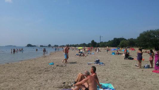 Strand zomer