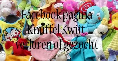 Facebook pagina Knuffel kwijt, verloren of gezocht